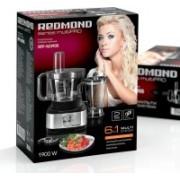 REDMOND RFP-M3905 700 W Food Processor(Black, Metallic)