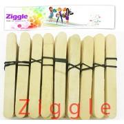 Ziggle Plain Ice Cream Sticks 200 pcs