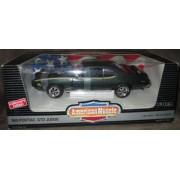 #7328 Ertl 1969 Pontiac Gto Judge,Green 1/18 Scale Diecast