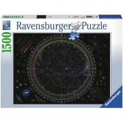 PUZZLE HARTA UNIVERSULUI, 1500 PIESE - RAVENSBURGER (RVSPA16213)