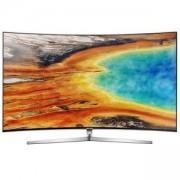 Телевизор Samsung 55 55MU9002 4K CURVED LED TV, SMART, TIZEN, 2700 PQI, Wireless, Network, 4xHDMI, 3xUSB, Сребрист, UE55MU9002TXXH