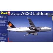 Airbus A320 Lufthansa European Passenger Airliner 1/144 Revell Germany
