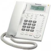 Стационарен телефон Panasonic TS 880FX, Бял, 1010048
