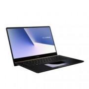 "Лаптоп Asus ZenBook PRO14 UX480FD-BE040R (90NB0JT1-M02990)(син), четириядрен Whiskey Lake Intel Core i7-8565U 1.8/4.6 GHz, 14"" (35.56 cm) Full HD Display & GF GTX 1050 MAX Q 4GB, (HDMI), 8GB DDR4, 512GB SSD, 1x USB 3.1 Type C, Windows 10 Pro"