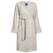 Essenza Dámská župan s kapsami, na zavazování v pase, 100% bavlna frotte, krémová barva - Essenza - L