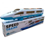 MySale High Speed Train Exprerss Bullet Train EMU with Flash Light Music for Gift Toy for Kids