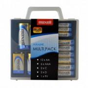 Maxell alkalne baterije multi pack
