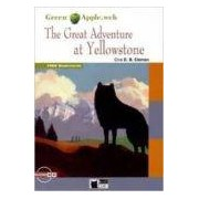 Vv.aa. The Great Adventure At Yellowstone. Book + Cd