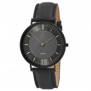Sidegren Nivil Armbanduhr In Schwarz & Gold