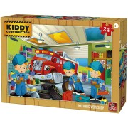 Puzzle King - Kiddy Construction, 24 piese (05457)
