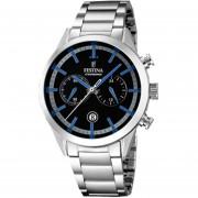 Reloj F16826/5 Timeless Hombre Chronograph Plateado Festina