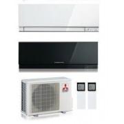 Mitsubishi Electric Kit Dual Kirigamine Zen Mxz-2d53va + Msz-Ef18ve2-W + Msz-Ef50ve2-W/b/s 5+17