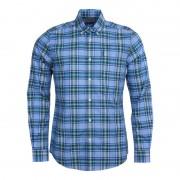Barbour Highland Check 26 Tailored Fit Blå