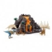 SCHLEICH Vulkan i T-Rex 42305