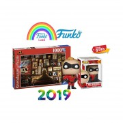 Set Rompecabezas y Mr. incredible Funko Pop Los Increibles