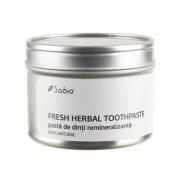Pasta de dinti remineralizanta (fresh herbal) - 118 ml