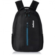 LeeRooy Canvas 22 Ltr Black School Bag Backpack For Unisex