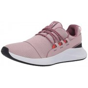 Under Armour Charged Breathe Lace Tenis para Mujer, Rosa Dash (602)/Gris Francés, 11