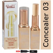 Glam21 Perfecting Stick Waterproof Concealer-CL1014SQR-03 With Free Adbeni kajal Worth Rs.125/