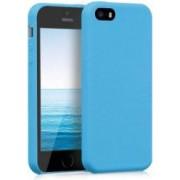 Husa Senno Neo Full Silicone pentru Apple iPhone 5 5S sau SE Cyan