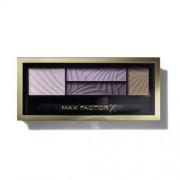 Max Factor Paleta farduri de ochi și fard de obraz cu aplicator (Smokey Eye Drama Kit) 1,8 g 02 Lavish Onyx