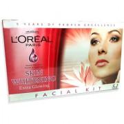 Skin Whitening Facial Kit 600g with makeup brush combo