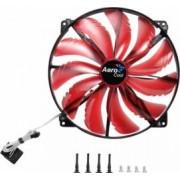 Ventilator Aerocool 200 mm 800 RPM Silent Master Red