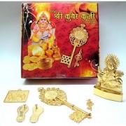 Astrology Goods Kuber Kunji Yantra Key & Kunghi Set For Wealth