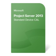 Microsoft Project Server 2013 Standard Device CAL OLP NL, H21-03304 certificat electronic