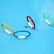 Alcoa Prime 4Pcs Dive Rings Underwater Pool Diving Games Swimming Toys Summer Beach Toys