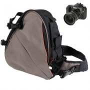 Digitális fényképezőgép válltáska - 32x29x13 cm - FEKETE
