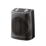 Вентилаторна печка Rowenta S02330F2, 2 степени на мощност, термурегулатор, 2400W, черна