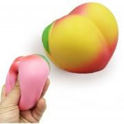 Simulación Peach Forma Lenta Descompresión Lenta La Subida De Rebote PU Mitigador De La Tension De Juguete Juguete Blando (Amarillo)