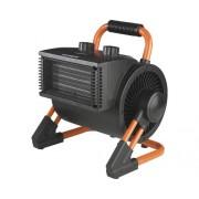 Incalzitor industrial electric Eurom EK3K Still, 3000 W, 3 trepte de putere, termostat, suprafata incalzita 115 mc