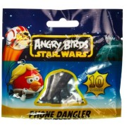 Luke Skywalker Bird ~0.8 Angry Birds Star Wars Mini-Figure Phone Dangler Series #1