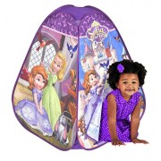 Frog Sofia 4 Panel Pop Up Play Tent, Multi Color