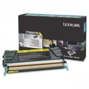 Тонер касета Lexmark C746, C748 Yellow Return Program Toner Cartridge, C746A1YG