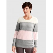 Paola Pull-over Paola Blanc::Gris::Rose clair