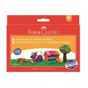 Plastilina 12 culori/set 160 g FABER-CASTELL