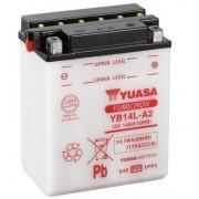 YUASA Batería de la motocicleta YUASA YB14L-A2