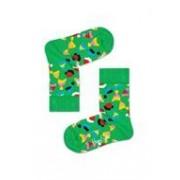 Happy Socks KIDS - Santa's Hat - Groen multi - 0-12 maanden en 12-24 maanden