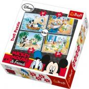 Trefl Puzzle Slagalica 4u1 Water Folly Disney (34118)