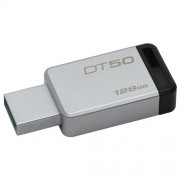 USB Flash 128GB 3.1 Kingston DT50/128GB Data Travel, do 24MB/s Metal