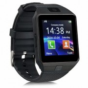 DZ09 Bluetooth Smartwatch With Camera/Sim Support -Black