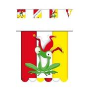 Vlaggenlijn Oeteldonk kikker
