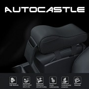 Autocastle Memory Form Car Armrest Cushions Armrest Center Consoles Head Neck Rest Pillow Pad for Car Motor Auto Vehicle,Armrest Pillow Pad Cushion with Extra Side Pockets