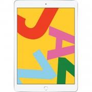 Apple iPad 10.2 (2019) 128Go Wifi avec protecteur d'écran et étui pliant (Noir) - Argent blanc