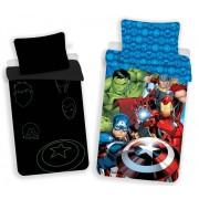 Marvel Avengers Bosszúállók Sötétben világító ágynemű