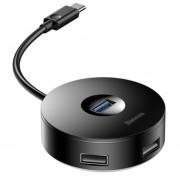 HUB Adaptador Expansor Entrada Tipo C Salidas USB 3.0 2.0 Macbook