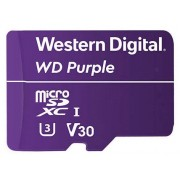 WD Purple WDD128G1P0A - Flash-minneskort - 128 GB - Video Class